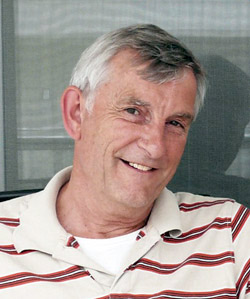 Author Ted Cole